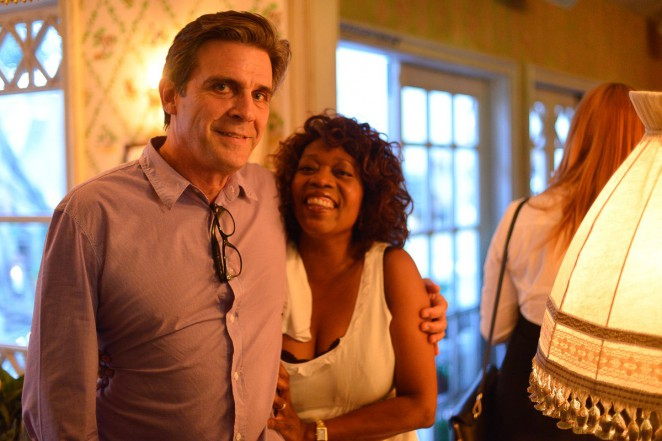 Roderick Spencer and Alfre Woodard. Photo credit: Alen Lin