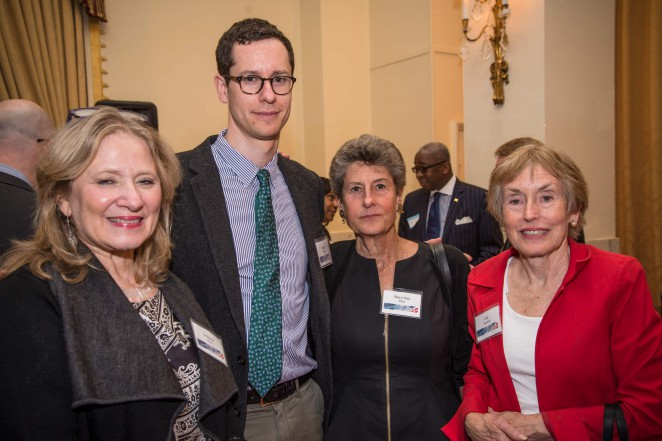 Deborah Shore, Noah Stein, Mary Ann Stein and Gail Harmon. Photo credit: Travis Vaughn.