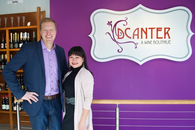 DCanter co-owners Michael and Michelle Lim Warner